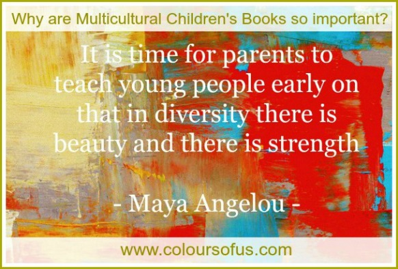 Why are multicultural children's books so important