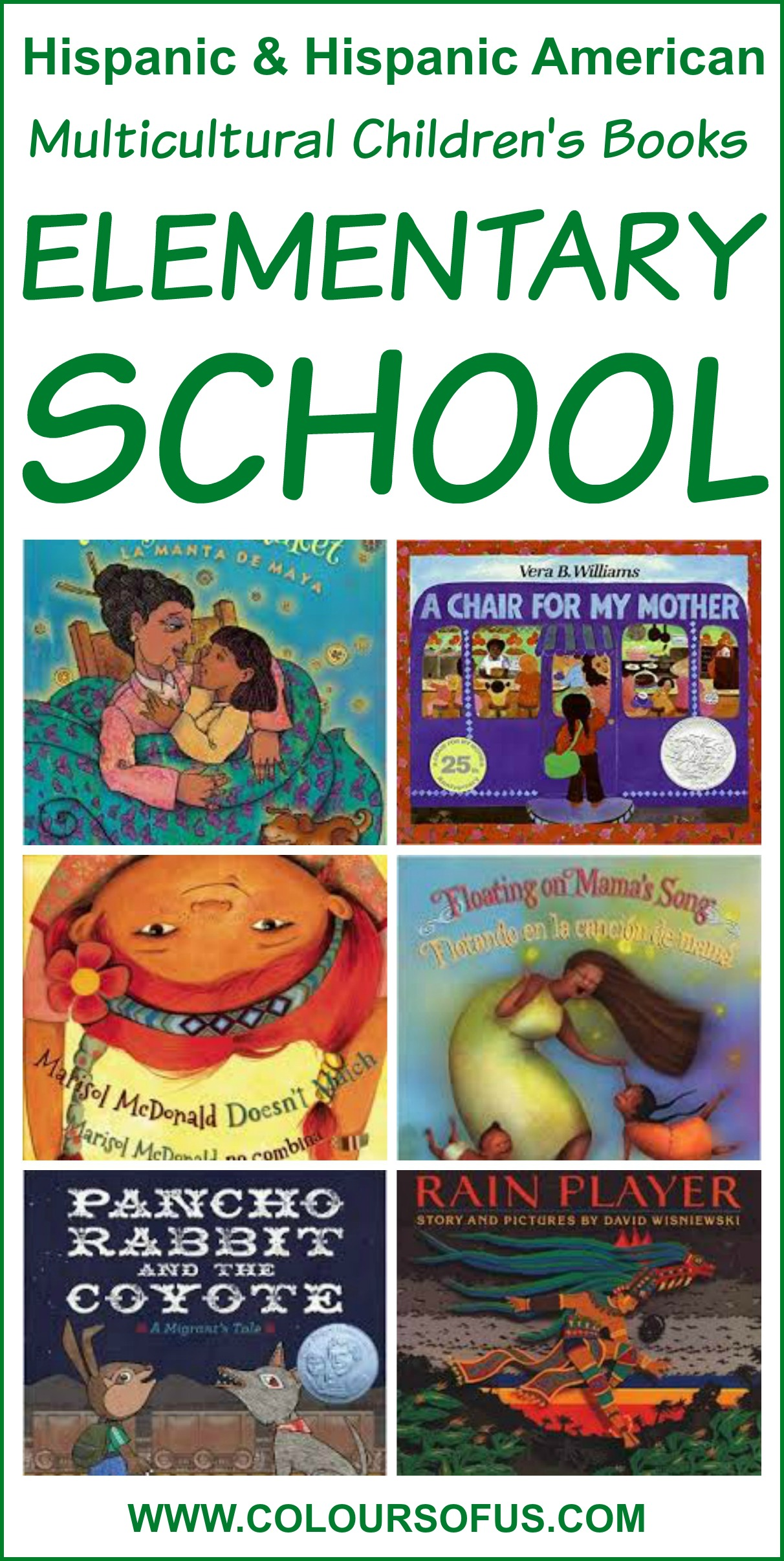 Hispanic Multicultural Children's Books – Elementary School