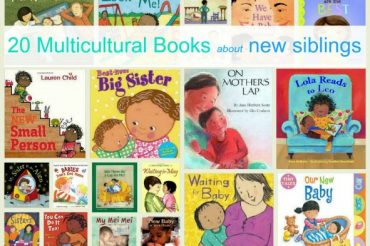 20 Multicultural Picture Books about new siblings