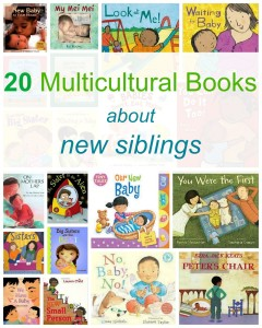 Multicultural Books about new siblings