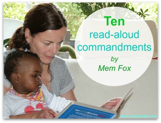 10 Read-Aloud Commandments