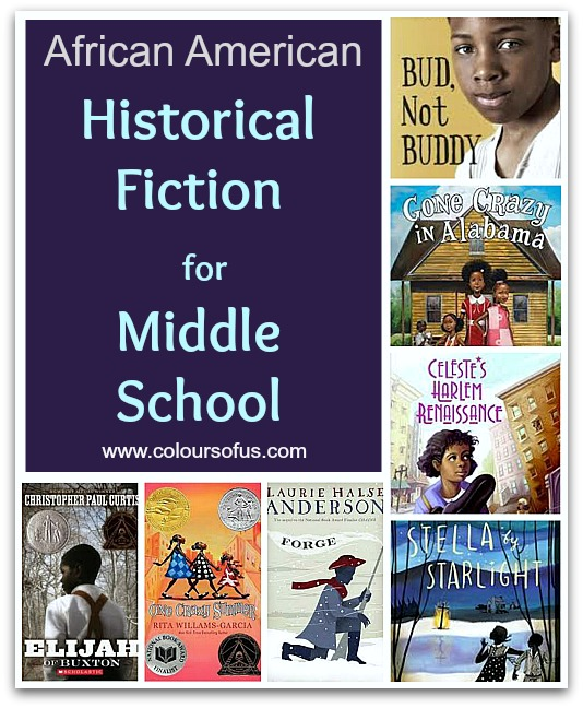 African American Historical Fiction for Middle School
