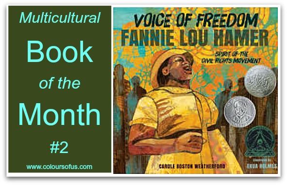 Multicultural Book of the Month: Voice of Freedom