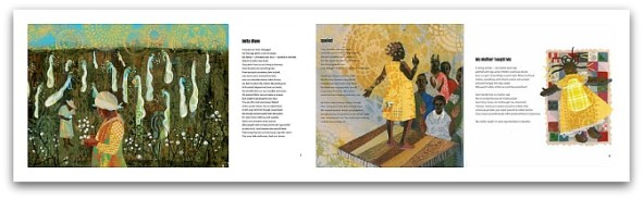 Voice of Freedom Fannie Lou Hamer book pages
