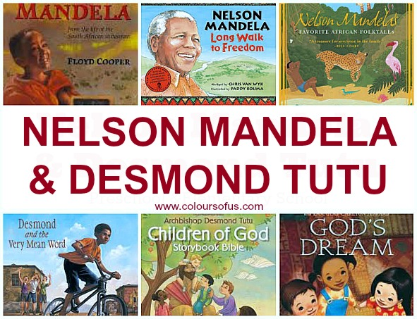 9 Children's Books about Nelson Mandela & Desmond Tutu