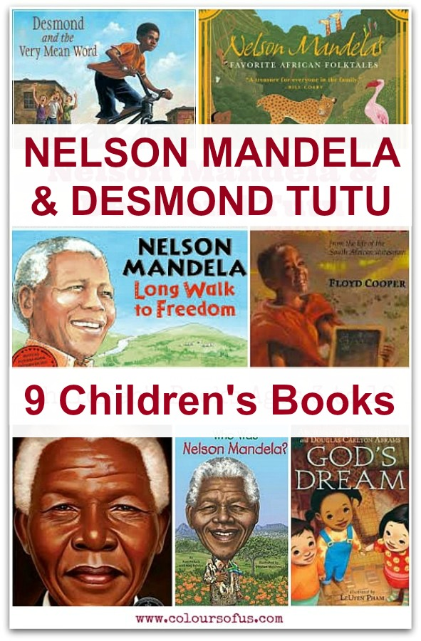 Children's Books about Nelson Mandela & Desmond Tutu