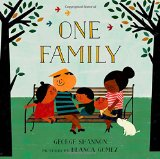 Children's Book about multiracial families: One Family