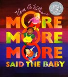 Children's Book about multiracial families: More More More Said The Baby