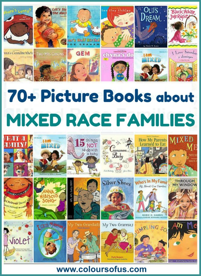 70+ Picture Books about Multiracial Families