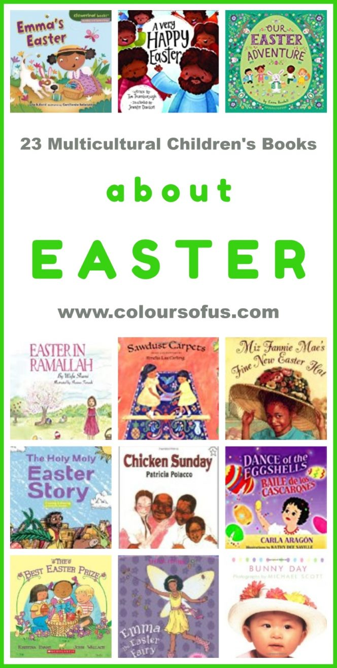 Multicultural Children's Books About Easter