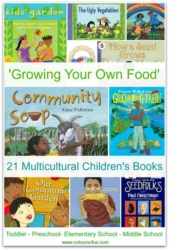 Multicultural Children's Books: Growing Your Own Food