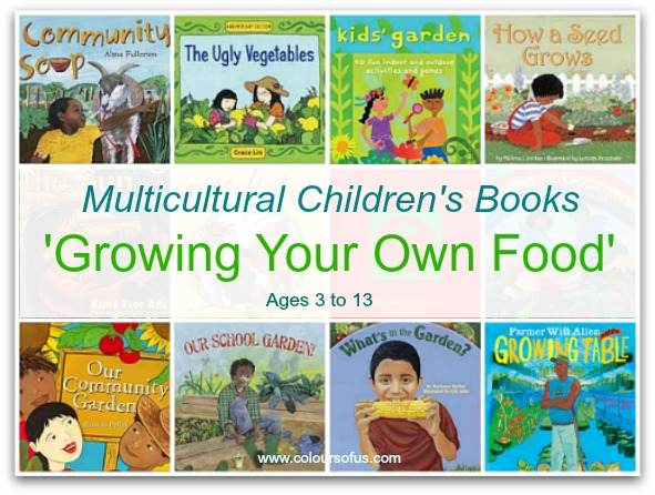 21 Multicultural Children's Books: Growing Your Own Food