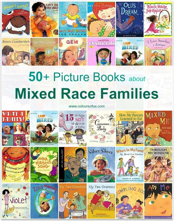 Multicultural Picture Books Mixed Race Families