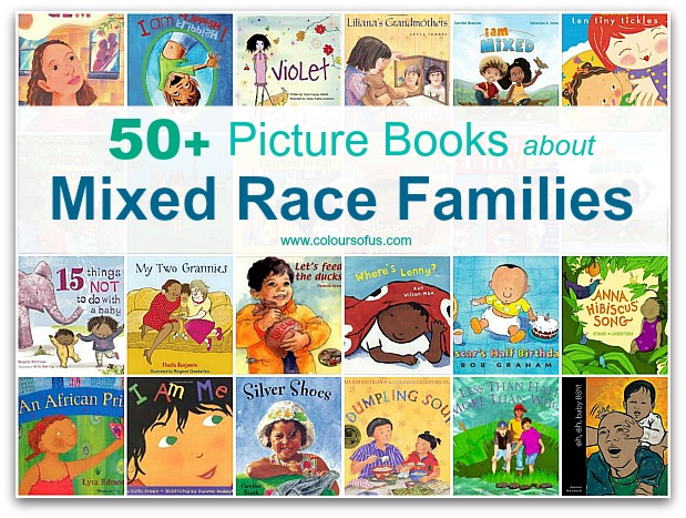Most Popular Multicultural Children's Book Lists: Mixed Race Families