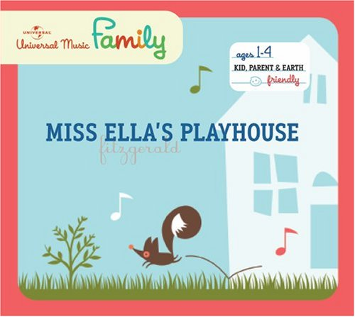 Children's Jazz CD's: Miss Ella's Playground