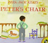 Multicultural Picture Books about new siblings: Peter's Chair