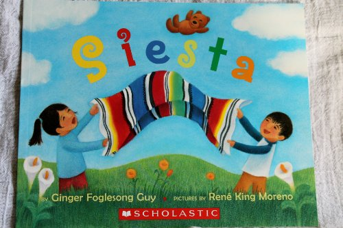 Hispanic Multicultural Children's Books - Preschool: Siesta