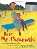 Multicultural Children's Books for Black History Month: Dear Mr Rosenwald