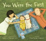 Multicultural Picture Books about new siblings: You Were The First