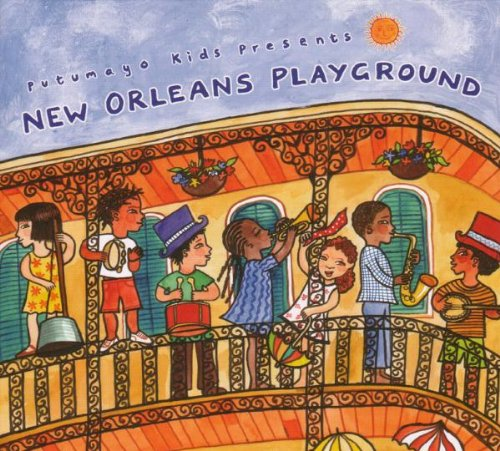 Children's Jazz CD's: New Orleans Playground