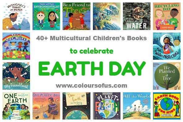 40+ Multicultural Children's Books for Earth Day