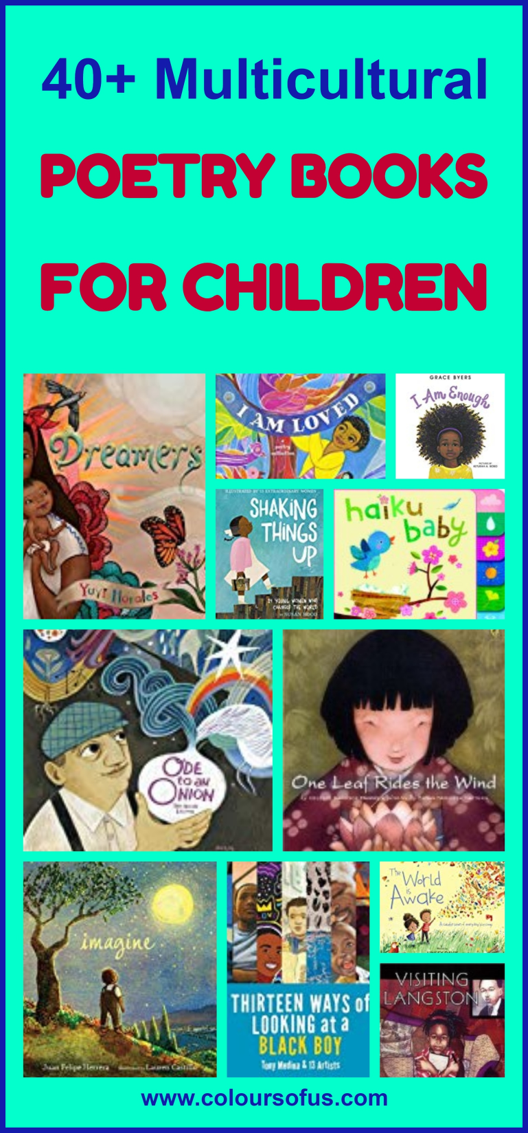 40+ Multicultural Poetry Books for Children