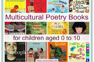 26 Multicultural Poetry Books for Children aged 0 to 10