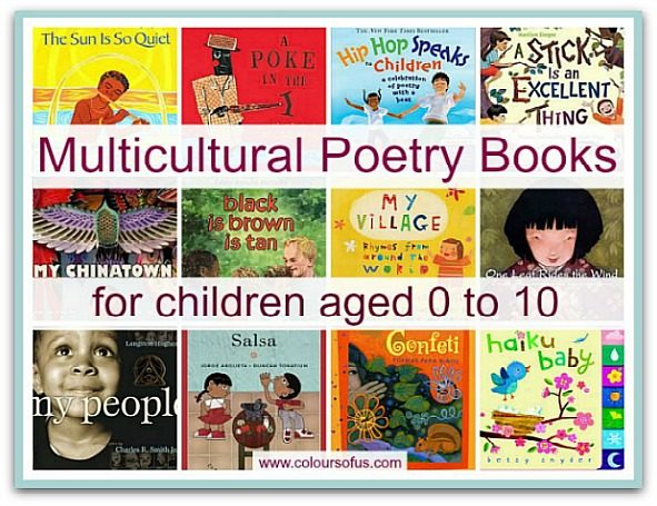 Multicultural Poetry Books for Children
