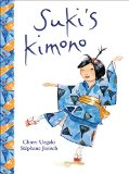 Multicultural Children's Books about school: Suki's Kimono