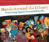 Multicultural Children's Books celebrating books & reading: Hands Around the Library