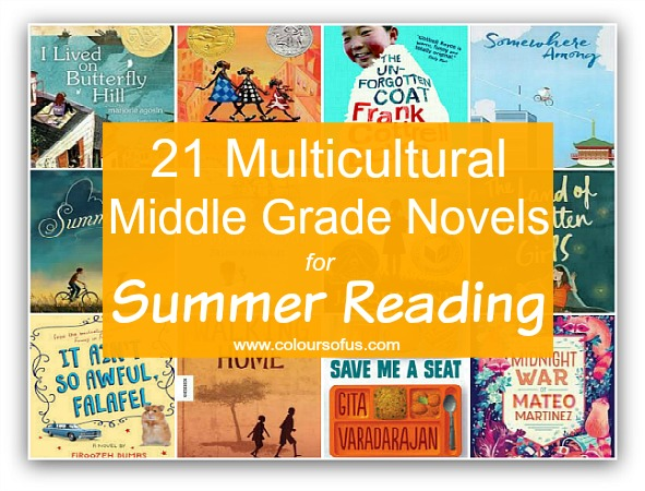 Most Popular Multicultural Children's Book Lists: Middle Grade Novels for Summer Reading