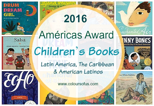 2016 Américas Award Winning Children's Books