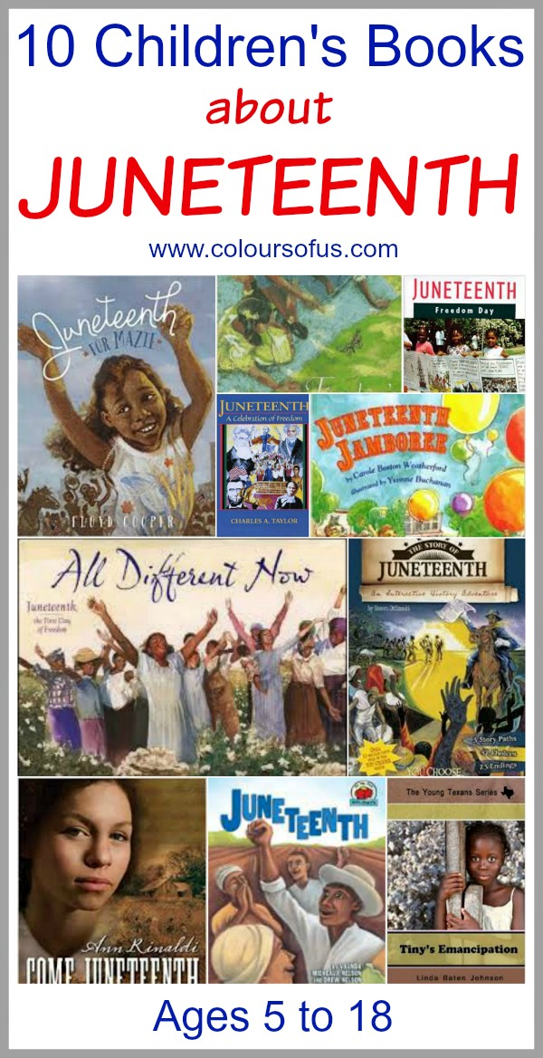 Children's Books celebrating Juneteenth