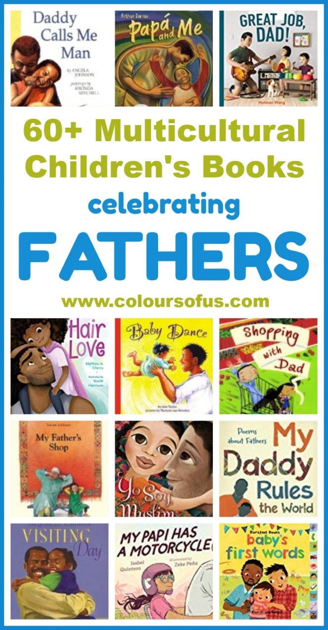 Multicultural Children's Books About Fathers