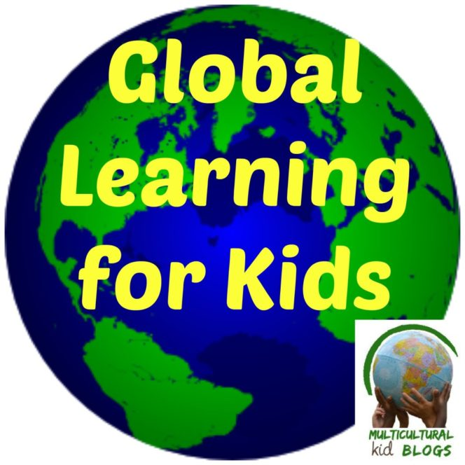 Global learning for kids button
