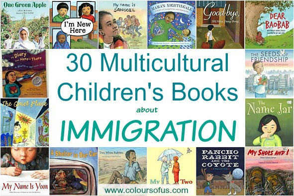 Most Popular Multicultural Children's Book Lists: Immigration