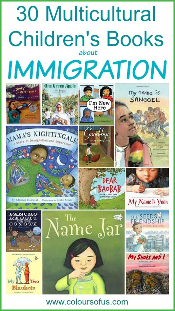 30 Multicultural Books about Immigration