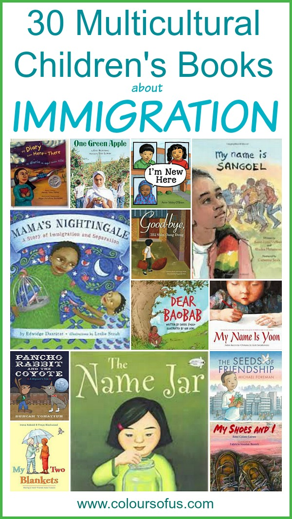 Multicultural Picture Books about Immigration