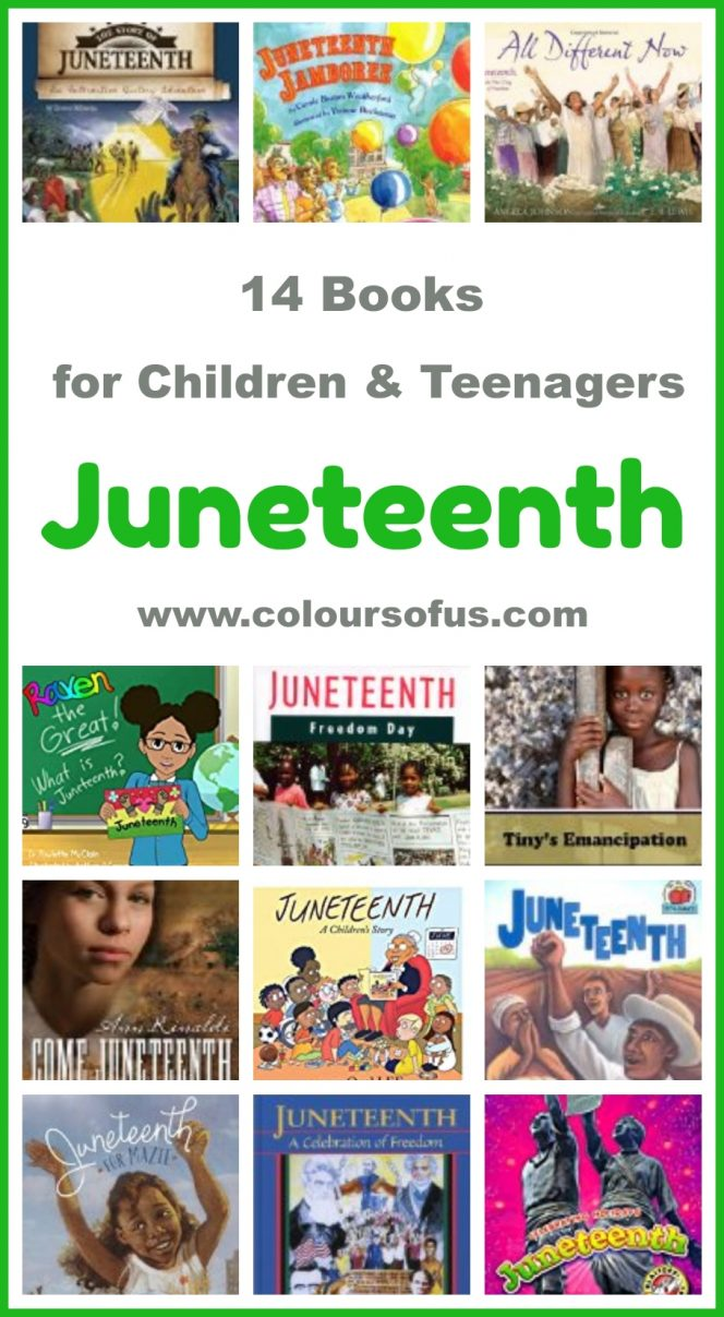Children's Books about Juneteenth