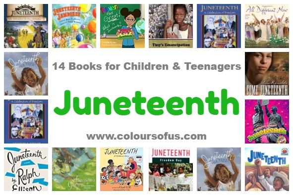 14 Children's Books celebrating Juneteenth