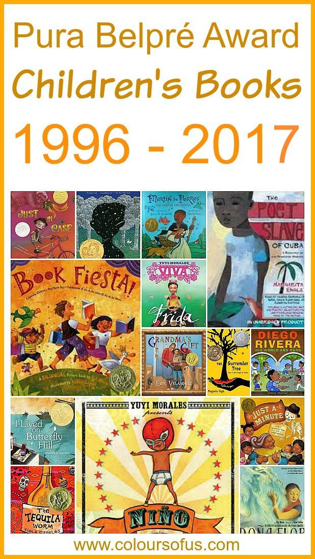 Pura Belpre Award Children's Books 1996 -2017