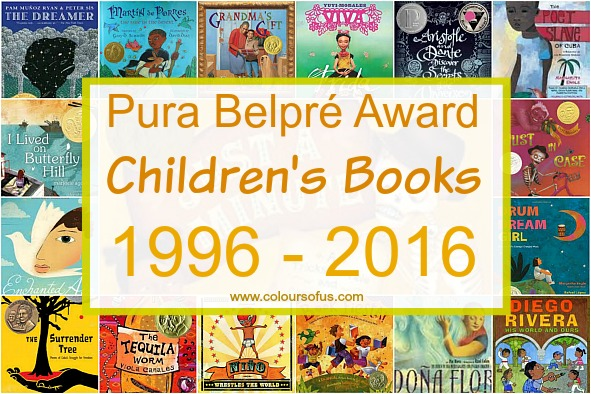 Pura Belpre Award Winners 1996 - 2016