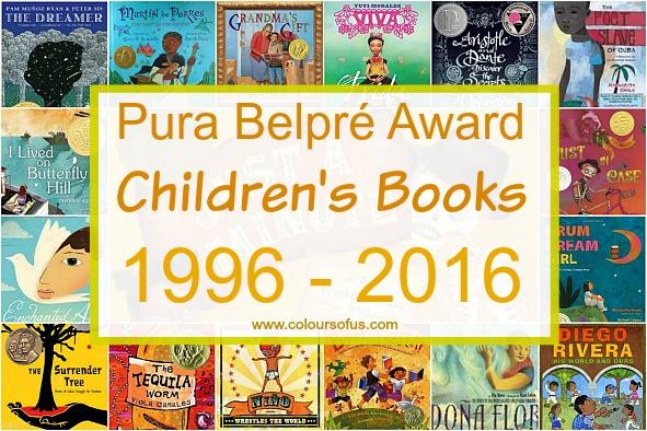 Pura Belpre Award Winners 1996 - 2016