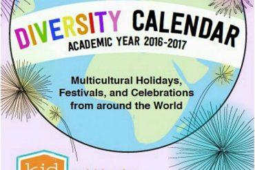 Diversity Calendar 2016 -2017
