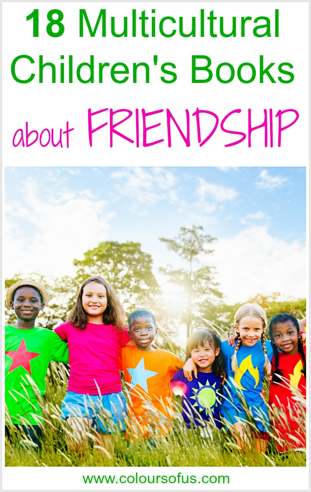 Multicultural Children's Books about friendship