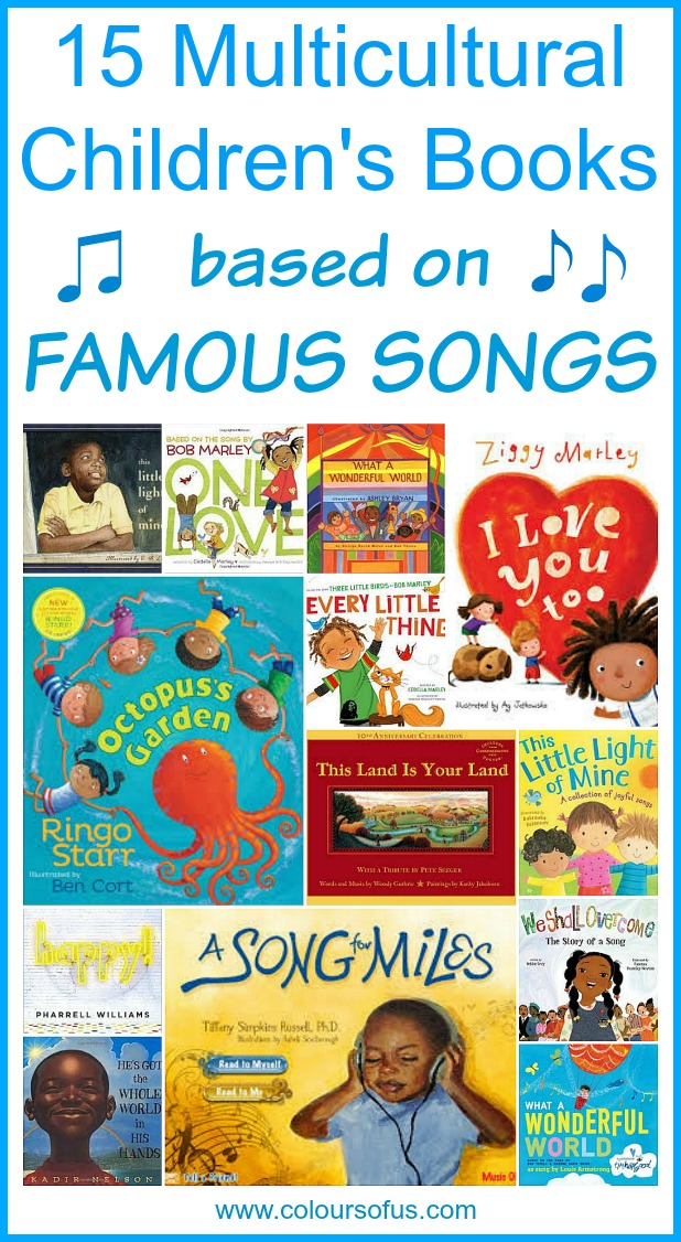 Multicultural Children's Books about famous songs