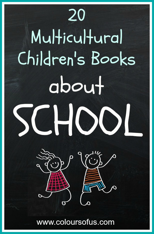 Multicultural Children's Books about school