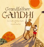 Multicultural Children's Books about grandparents: Grandfather Ghandi