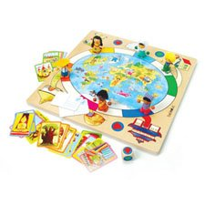 Multicultural Games & Puzzles: Children of the World Game