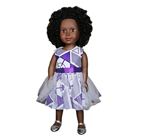"Multicultural Dolls & Puppets: 18"" Black Doll"